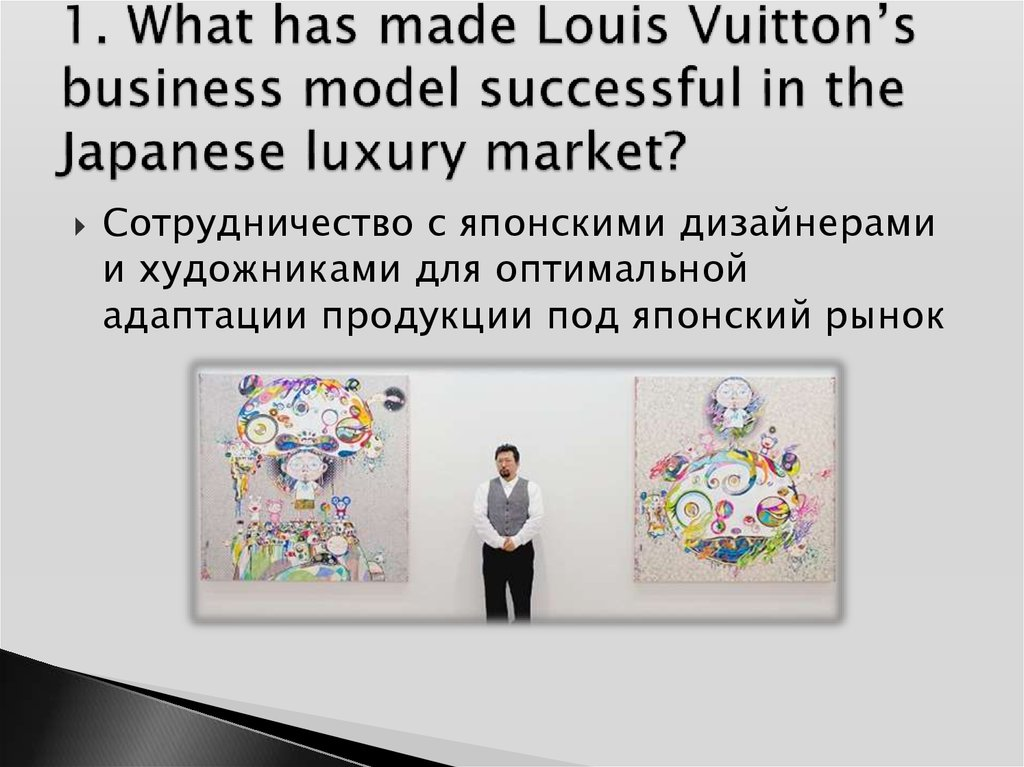 What are the specifics of the japanese fashion luxury market