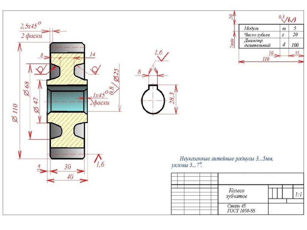 Правила нанесения размеров | CADInstructor