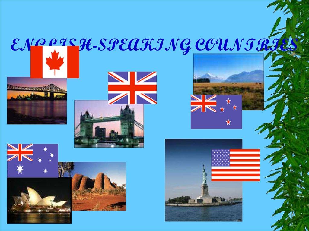 english-speaking countries  australia