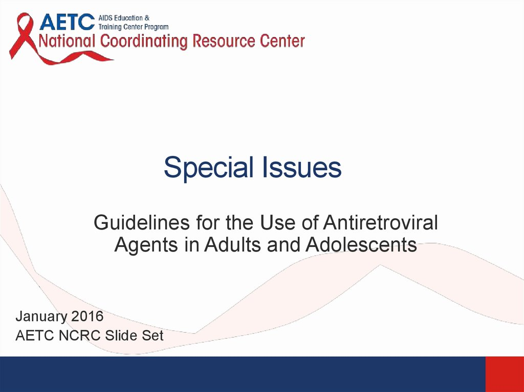 the issue of treatment of adolescents