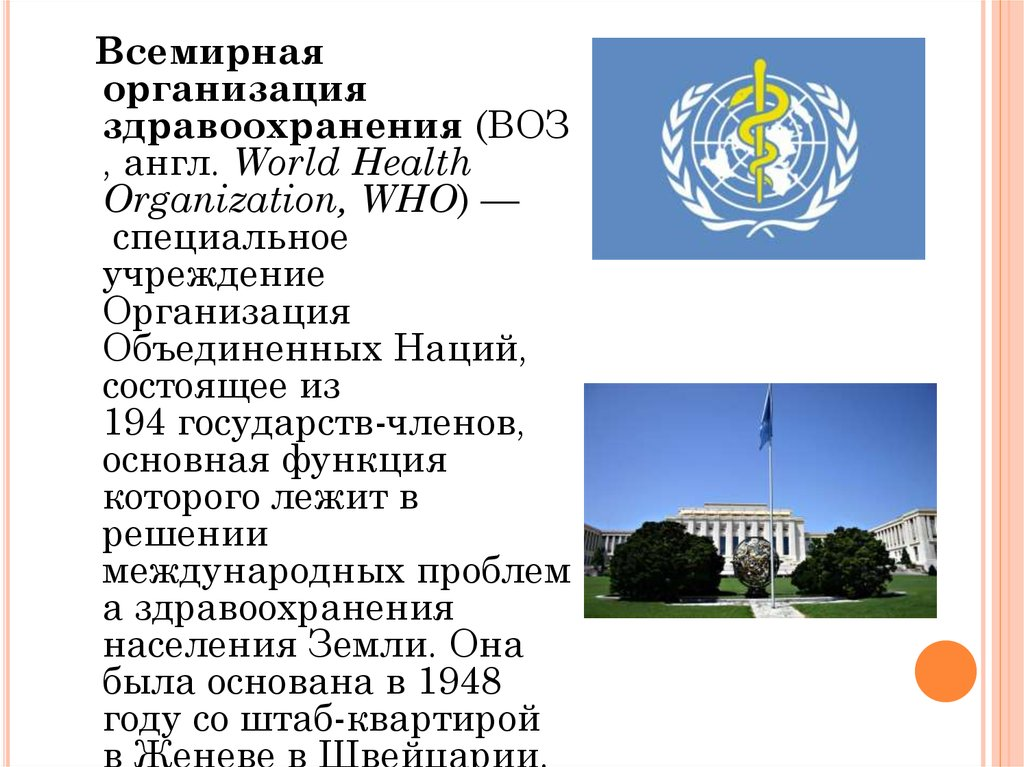 всемирная организация интеллектуальной собственности реферат