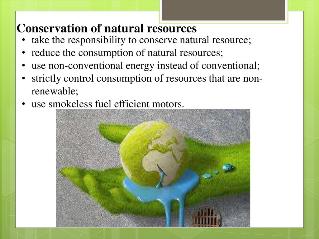 Causes Of Depletion Of Natural Resources Ppt