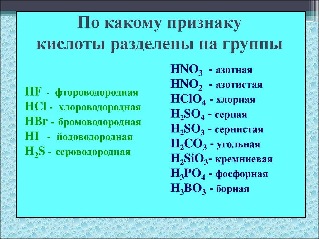презентация хлороводород соляная кислота