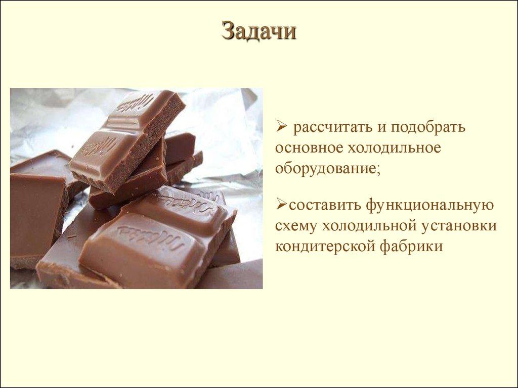 технологическая схема производства шоколадной массы