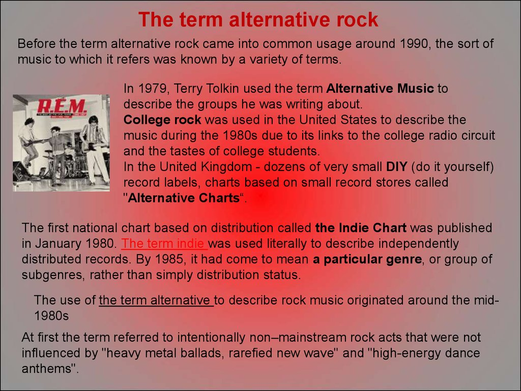 an introduction to the origins and the history of grunge rock Check out the ultimate genealogy of popular #musicgenres and their history on #musicmap wwwmusicmap gothic rock, grunge genres: an introduction, edinburgh.