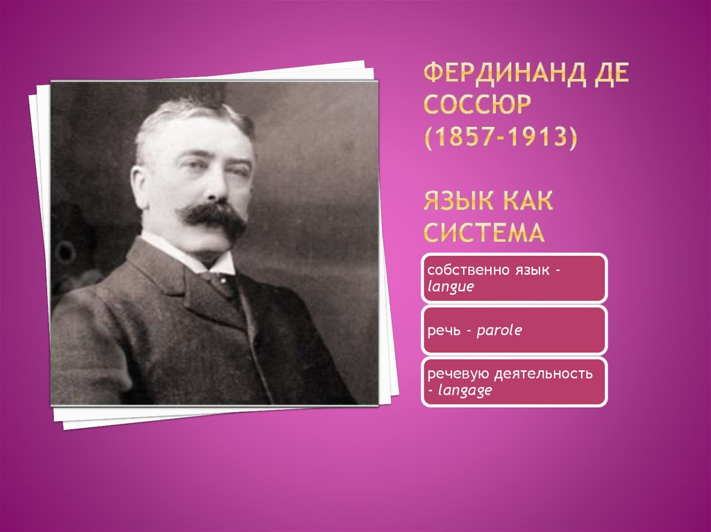 Ferdinand de Saussure  Wikipedia la enciclopedia libre