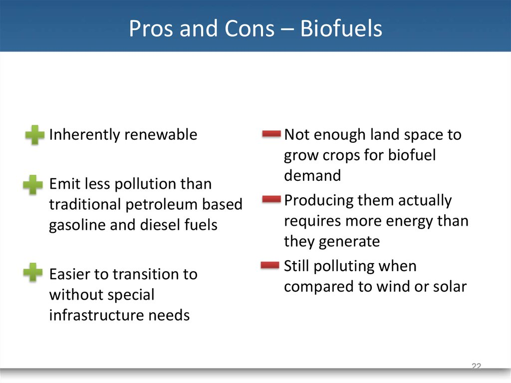 Renewable energy - online presentation