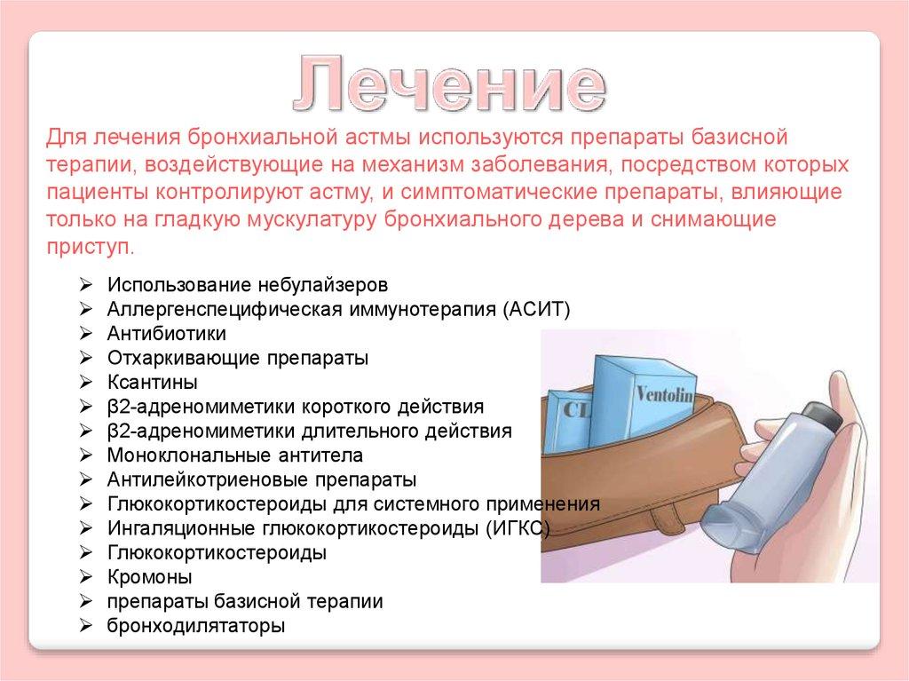 бронхиальная астма выдох удлинен