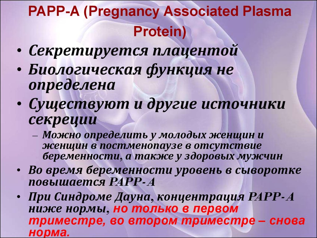 PAPP-A (Pregnancy Associated Plasma Protein)