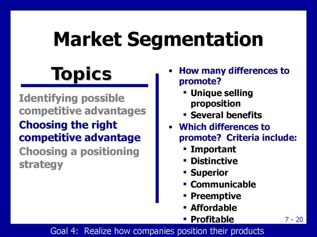 how companies identify attractive market segments marketing essay Identifying market segments and selecting target markets  we use your linkedin profile and activity data to personalize ads and to show you more relevant ads.