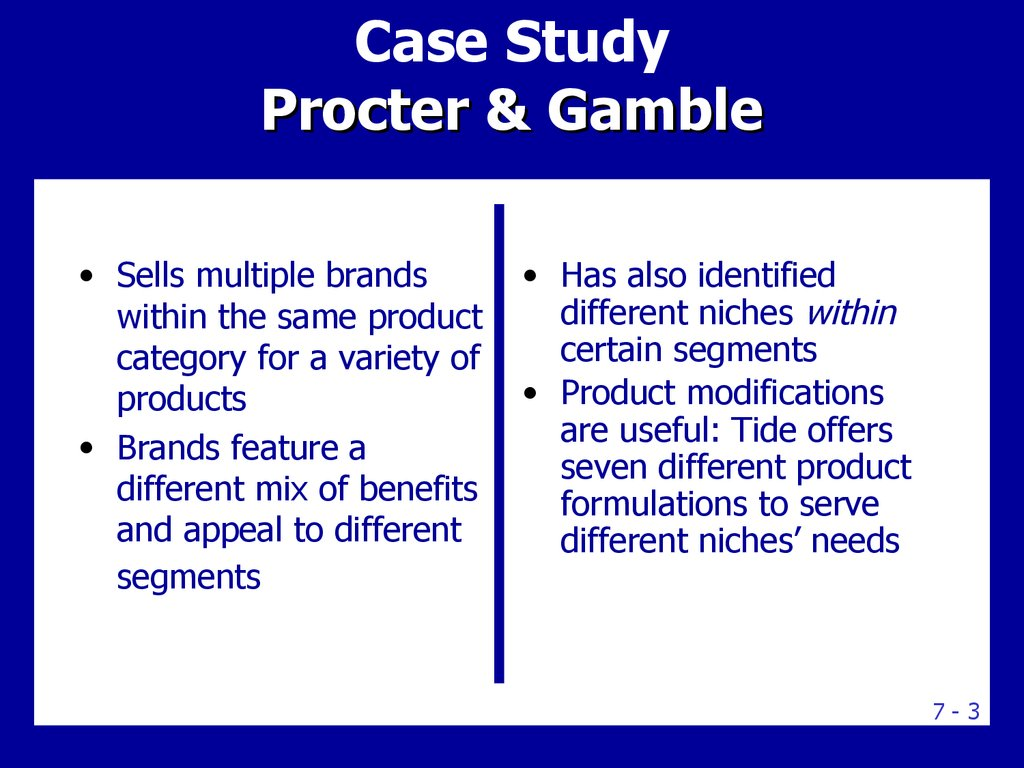 case study target the right market If so, which customer segment should sparkplace target or is there a single  strategy that can capture the potential value of both types of customers without.