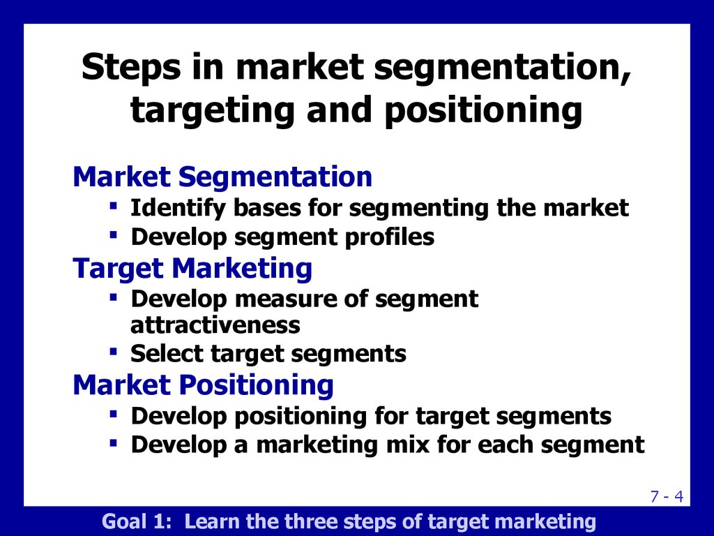 market segmentation for the cosmetic industry The purpose of this paper is to compare and validate the results of two clustering  methods for the segmentation of the market for prestige cosmetics in korea,.