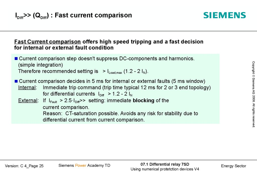 IDiff>> (QDiff) : Fast current comparison