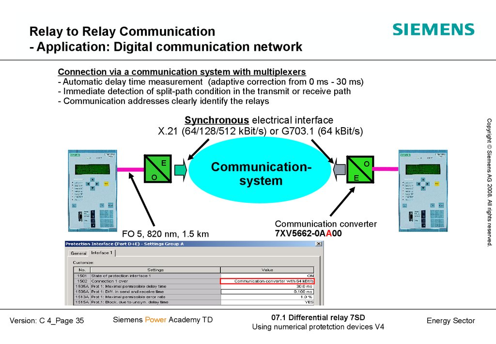 Relay to Relay Communication - Application: Digital communication network