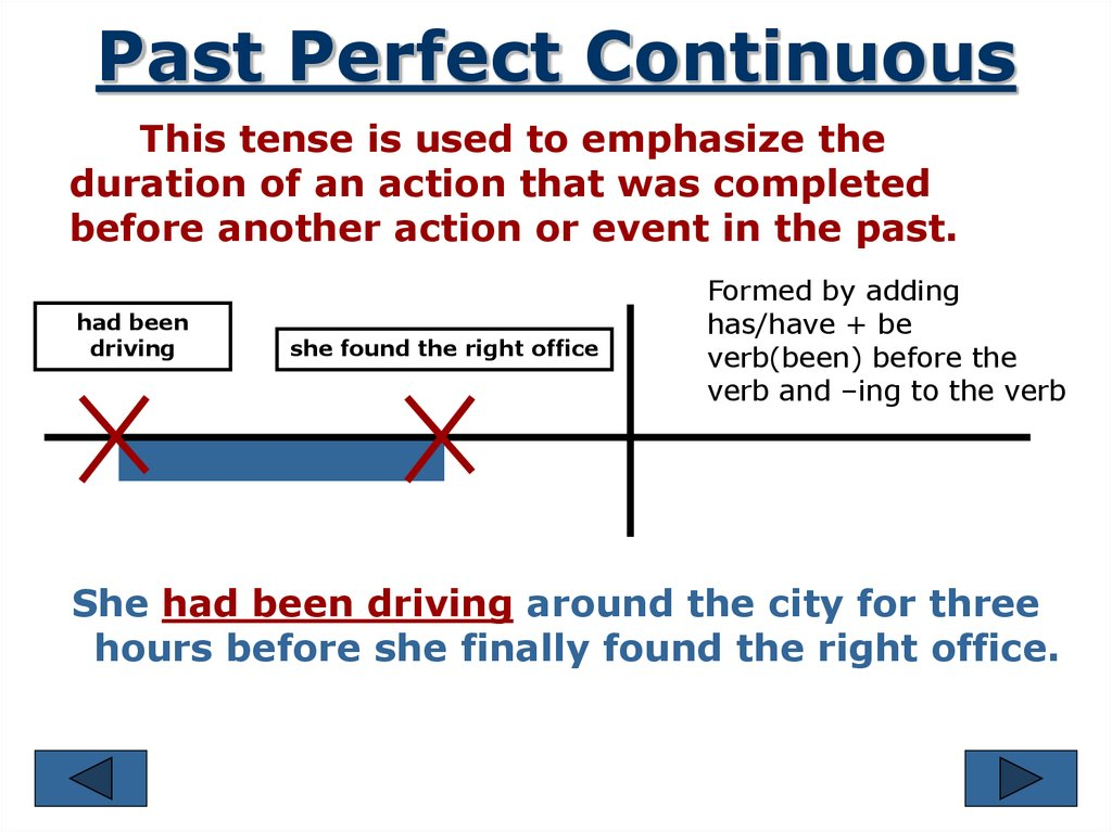 verb forms  review of tenses