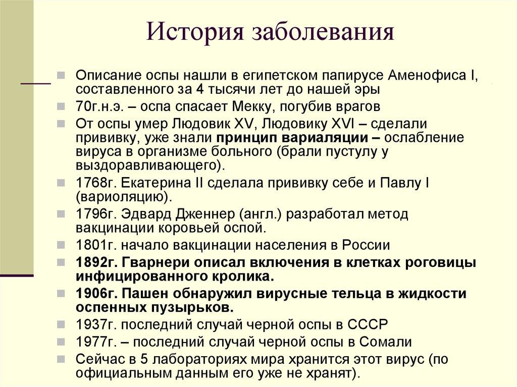 история заболевания пиелонефрита