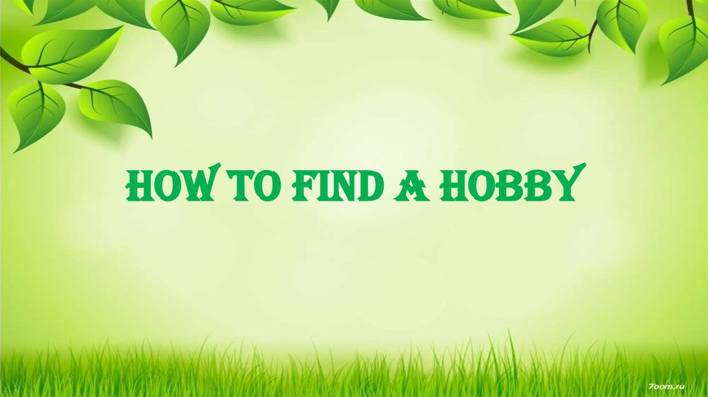how to find a hobby reddit