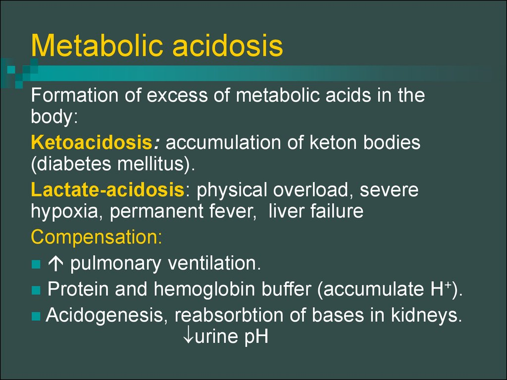 a description of acidosis as a condition characterized by excessive acid in the body fluids Respiratory acidosis is an abnormal clinical process that causes the arterial pco2   respiratory acidosis is characterized by an increased arterial blood pco2 and   acid-base disturbance initiated by an increase in co2 tension of body fluids   for this condition4 another special case of respiratory acidosis is the presence.