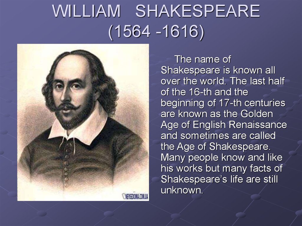 The early life family and literary works of william shakespeare