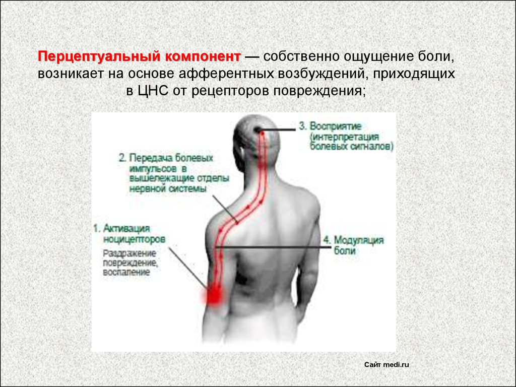 болевое воздействие на суставы