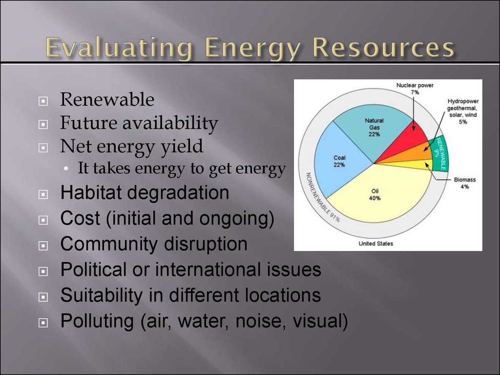 Energy Resources Em Amp Sd Lecture Online Presentation