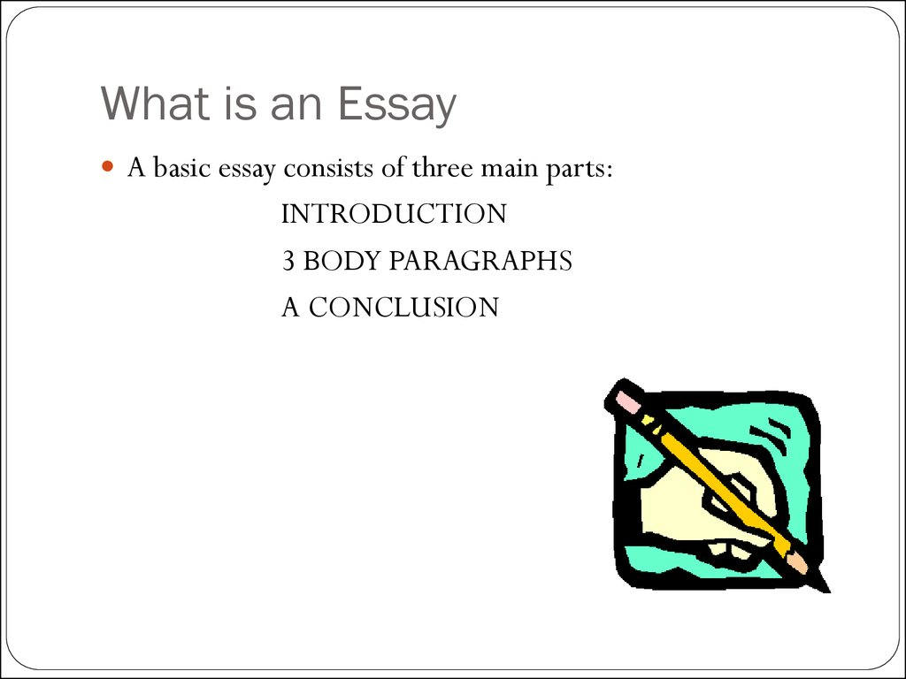 How to write a basic essay