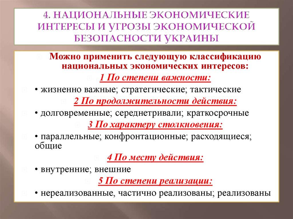 Экономическая безопасность России курсовая работа Реферат на тему экономическая безопасность