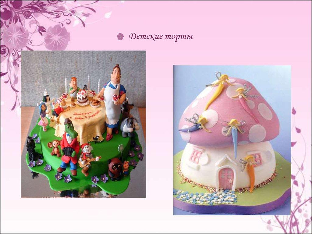 Технология производства тортов и пирожных