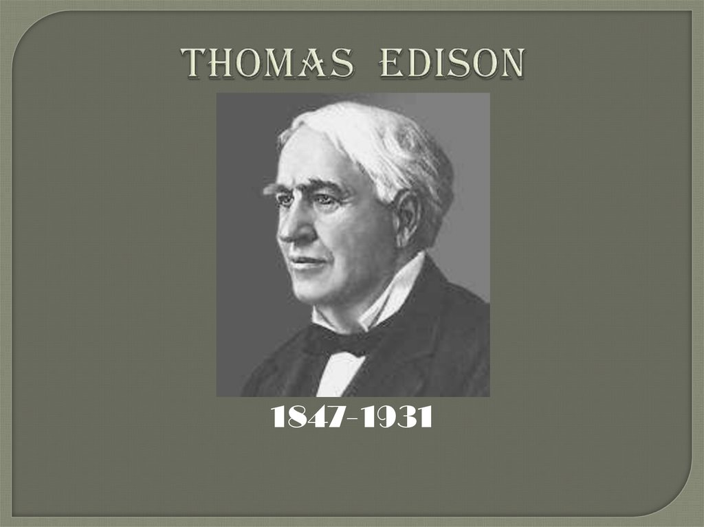 an analysis of thomas alva edison who was born in milan ohio Edison, thomas alva (1847 - 1931) place: united states of america subject  ( 1847–1931) thomas alva edison was born in milan, ohio on 11 february 1847,   together with autobiography—an individual's interpretation of his own life—it.