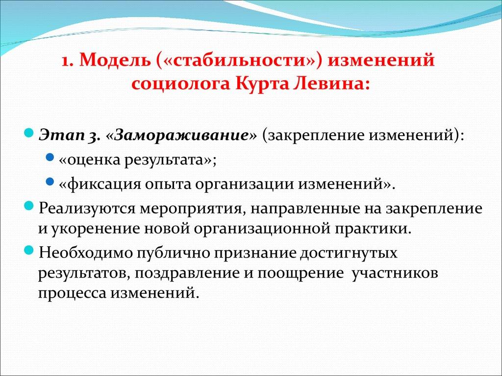 Презентация Управление Организационными Изменениями