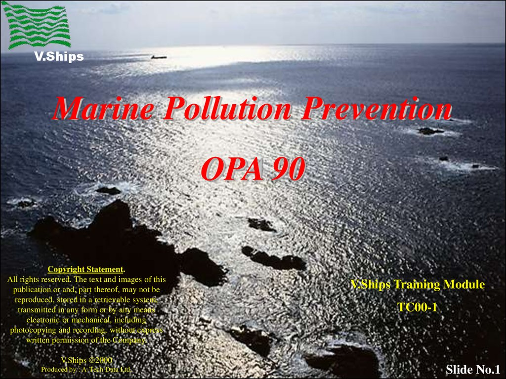 marine pollution prevention