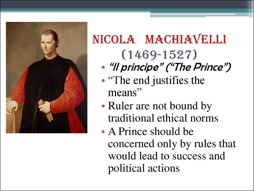 The Philosophical Idea of Socrates and Machiavelli Essay