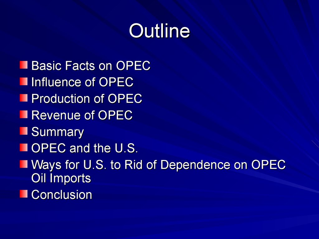 opec formation and influence on Should opec provide discounts to russia and if putin's country agrees to reduce its output, we predict that oil prices may breach the $70 mark in 2018 saudi arabia loses influence, faces turmoil we predicted last year that turmoil would wash over saudi arabia in 2017 if the country continued to spend (and speed) through its cash reserves at .
