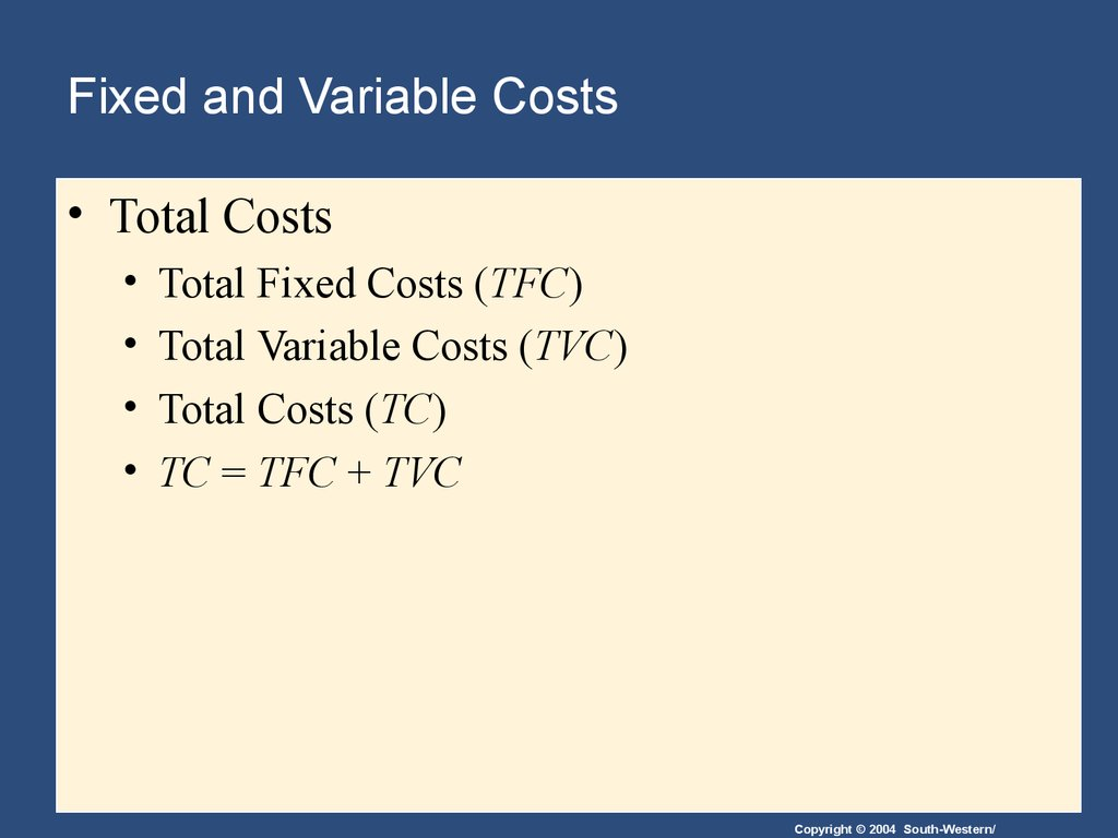 fixed and variable cost of airline industry What's an example of a business with mostly fixed  airline industry the cost to the airline is almost  perhaps the only variable cost is the additional.