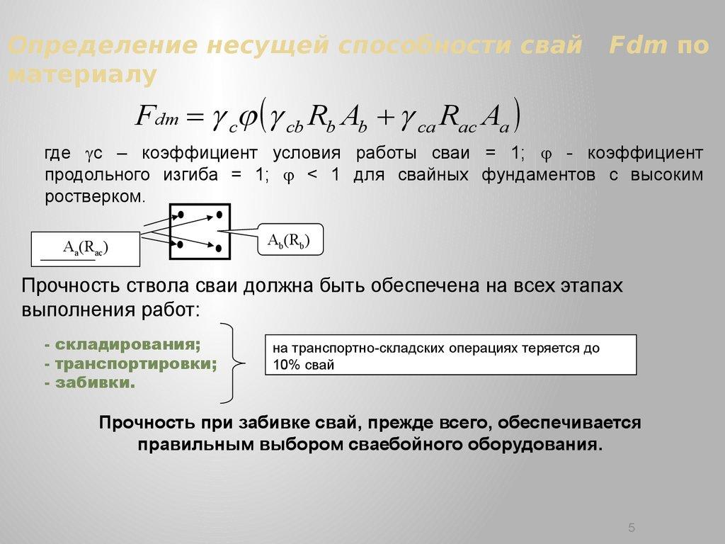 СНиП 2020385 Свайные фундаменты