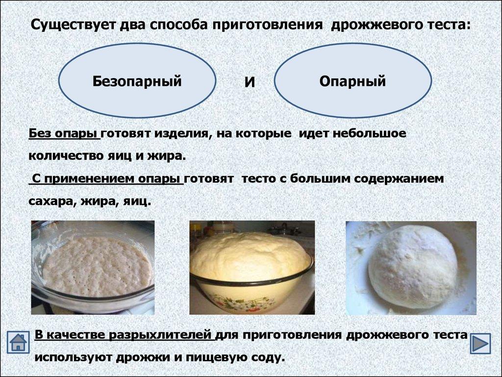 Дрожжевое тесто и пирожки из него рецепт