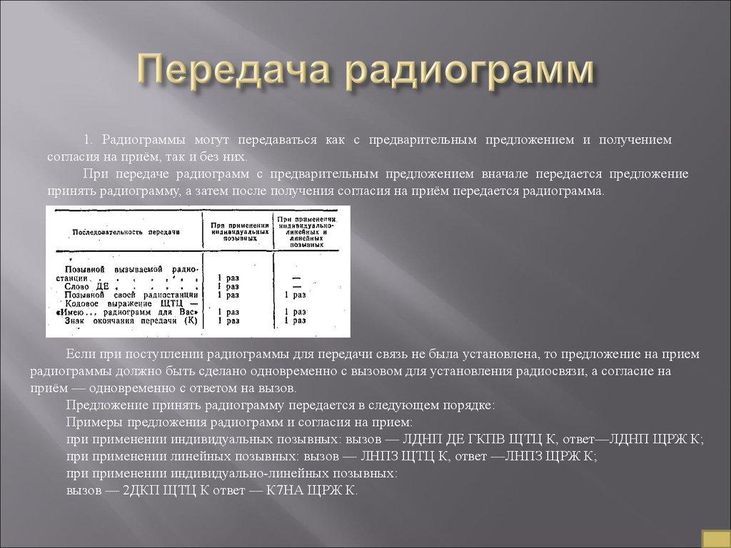 Должностная инструкция радиооператора техника