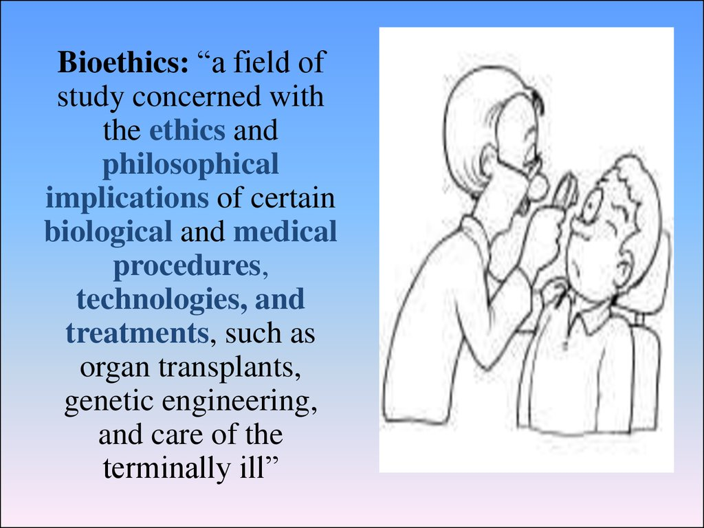 Analysis of the bioethical issues in gattaca