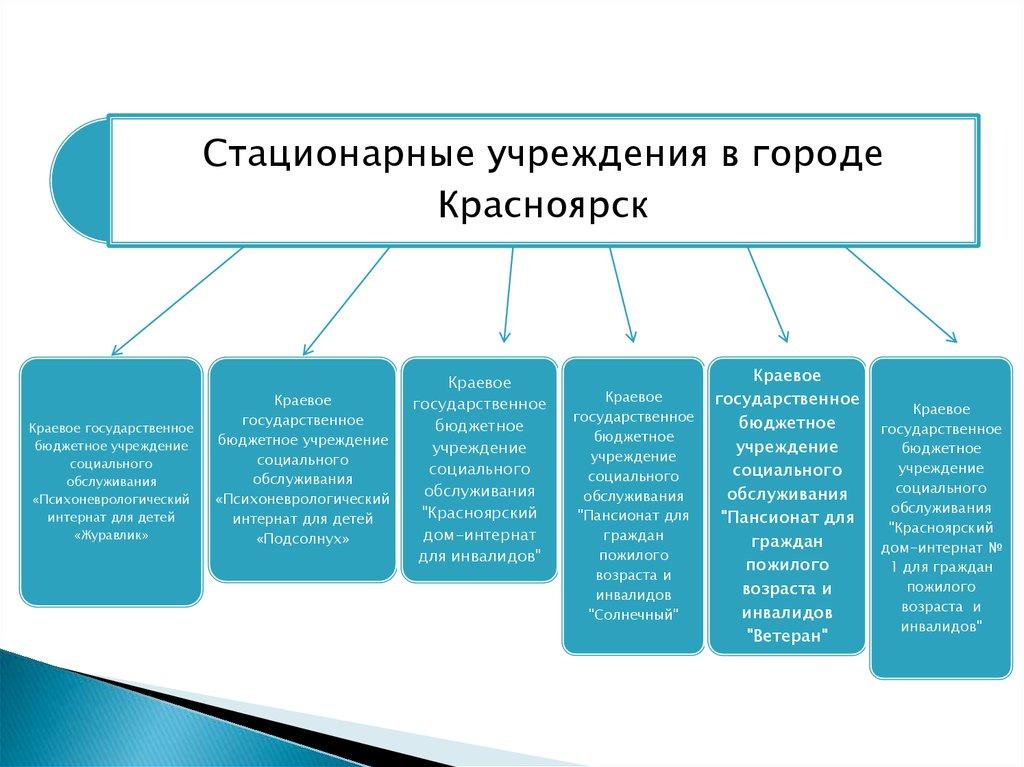 Социальные службы типы структура особенности