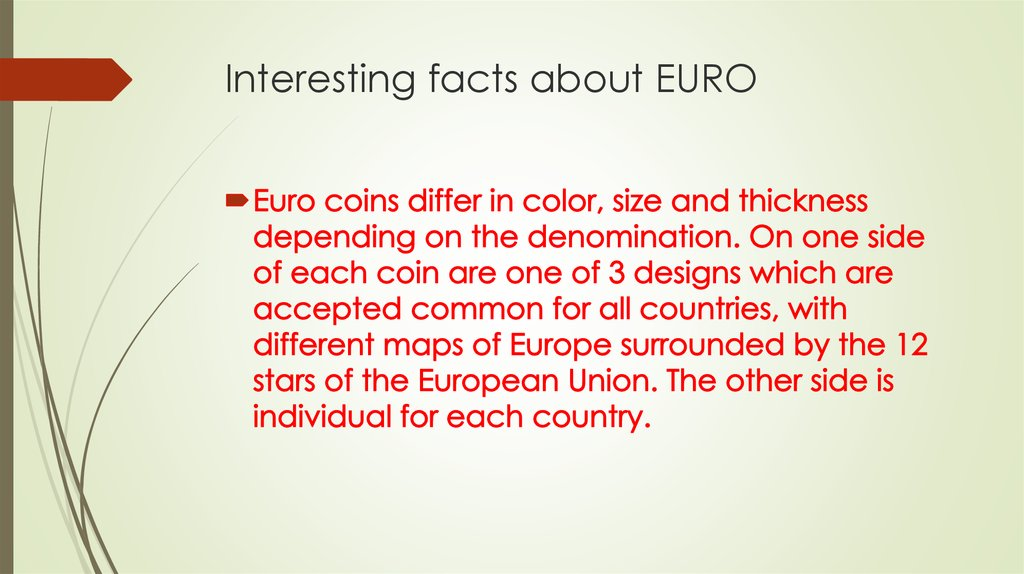 interesting facts about euro