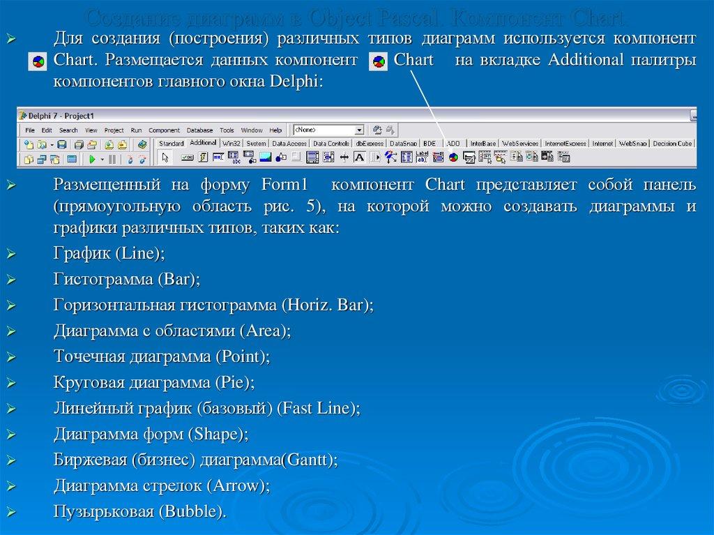 язык программирования delphi знакомство