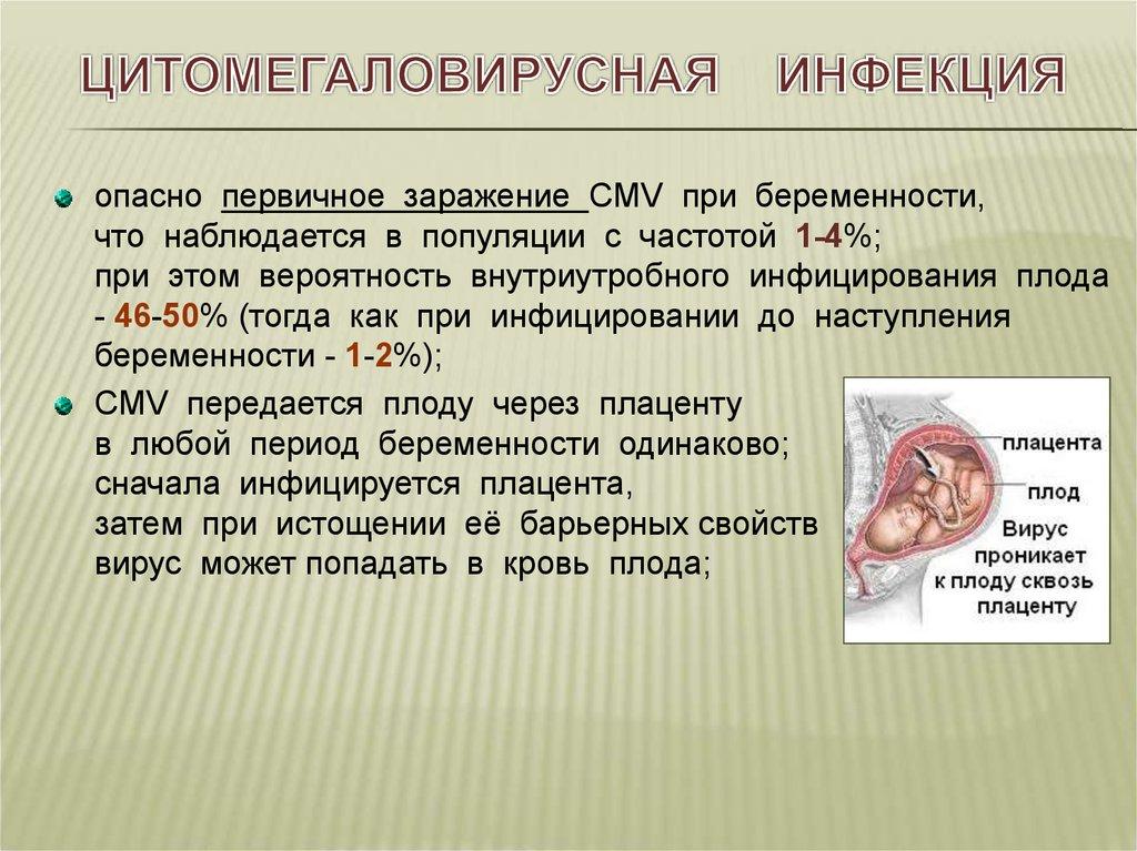 Цитомегалия, цитомегаловирусная инфекция у ребенка