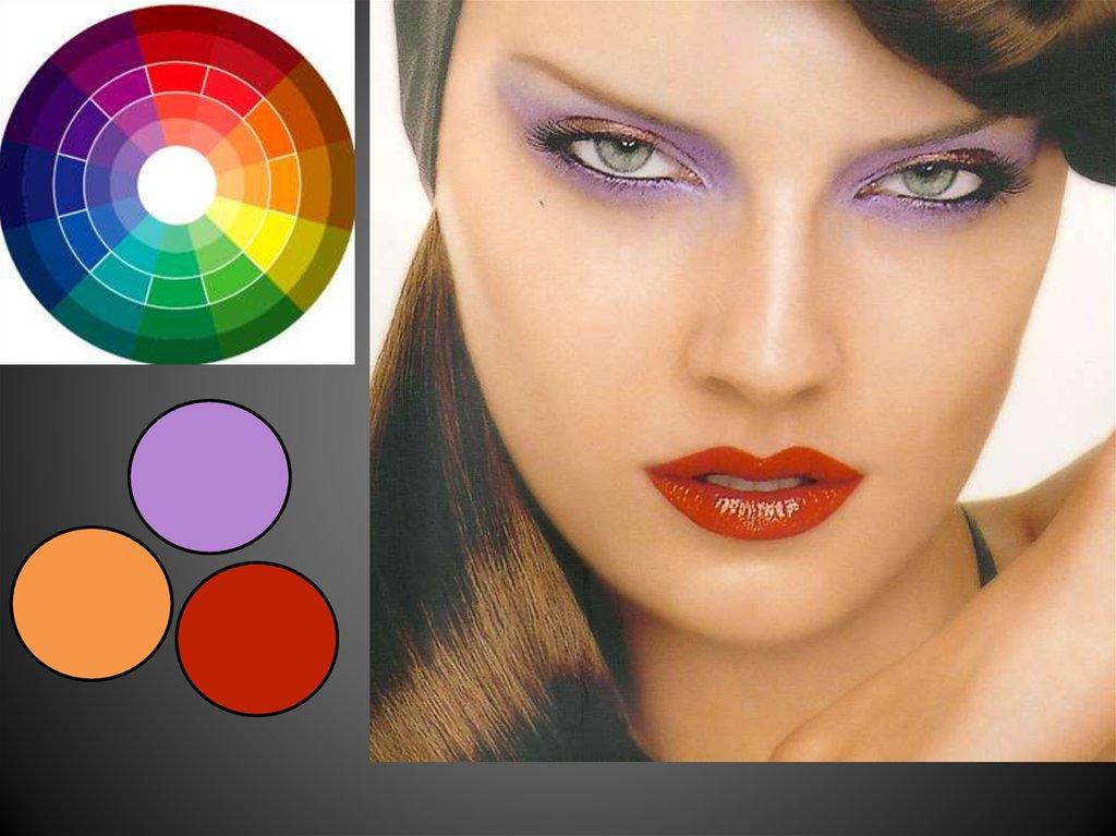 Все о цветовом круге в макияже