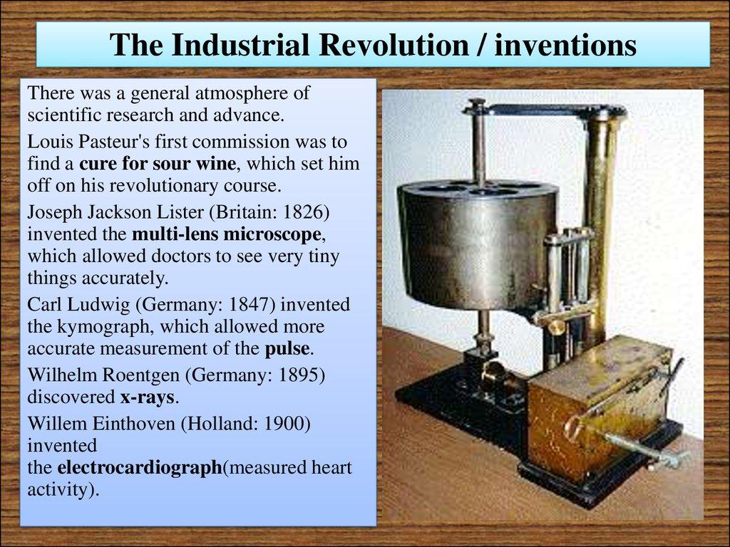 The nineteenth century — the beginnings of modern medicine ...