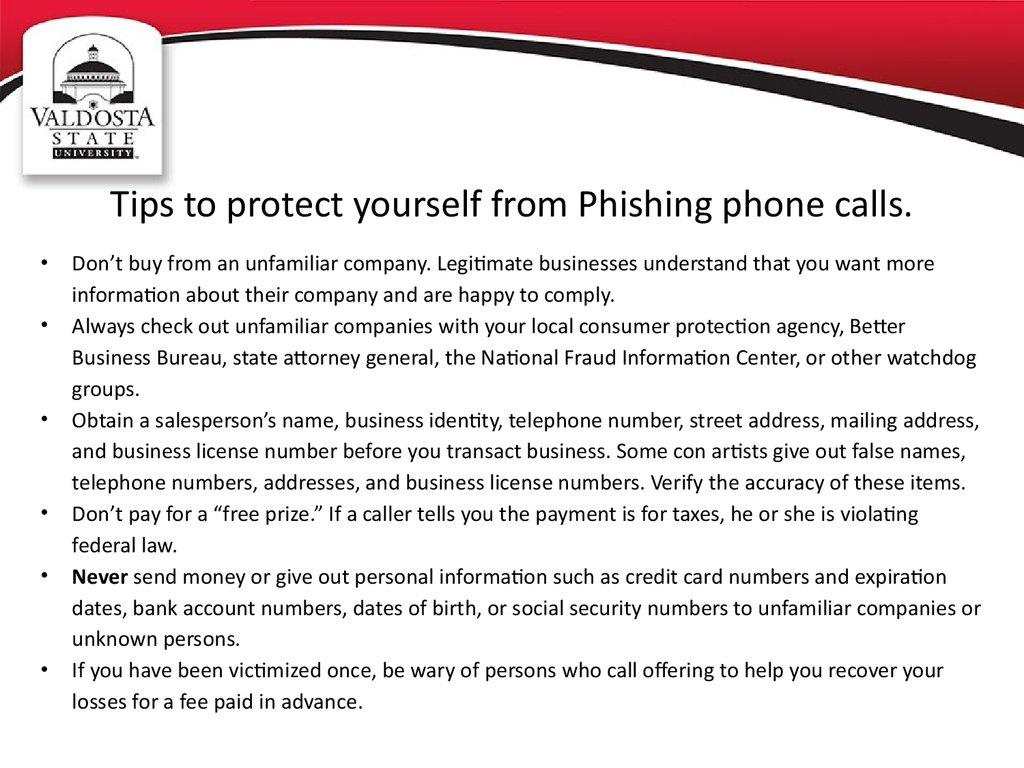 Phishing awareness - презентация онлайн