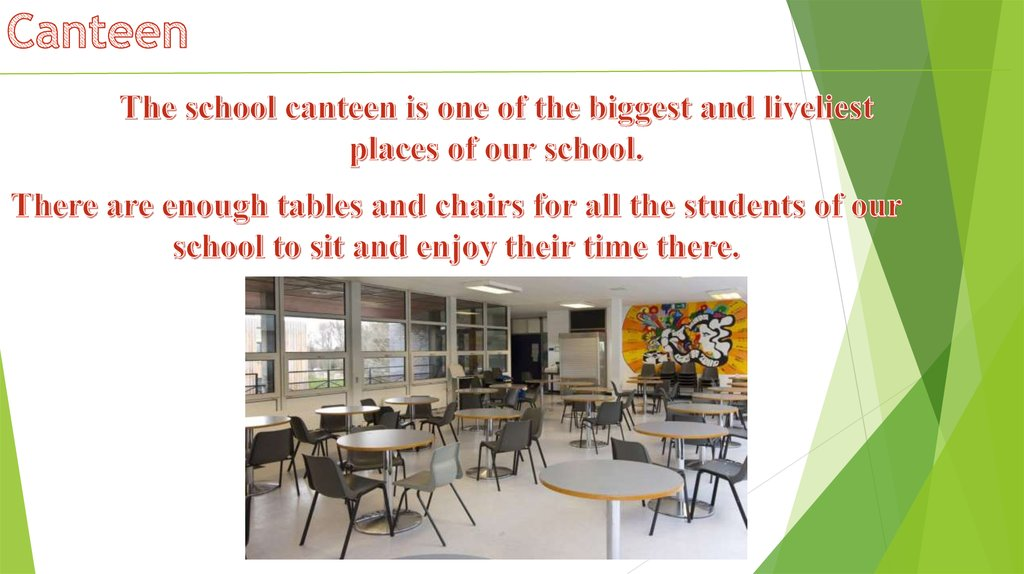 my ideal school canteen My ideal school each of us imagines one′s ideal school differently for someone my present school could be an ideal – after all it counts among the best schools.