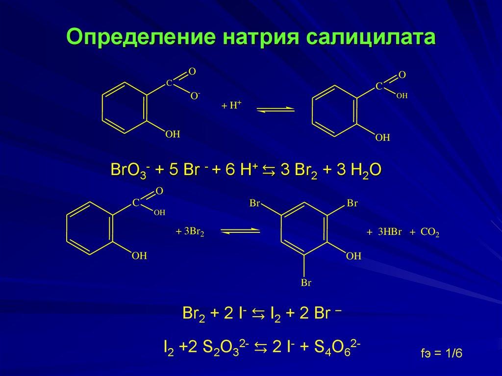 Натрия салицилат