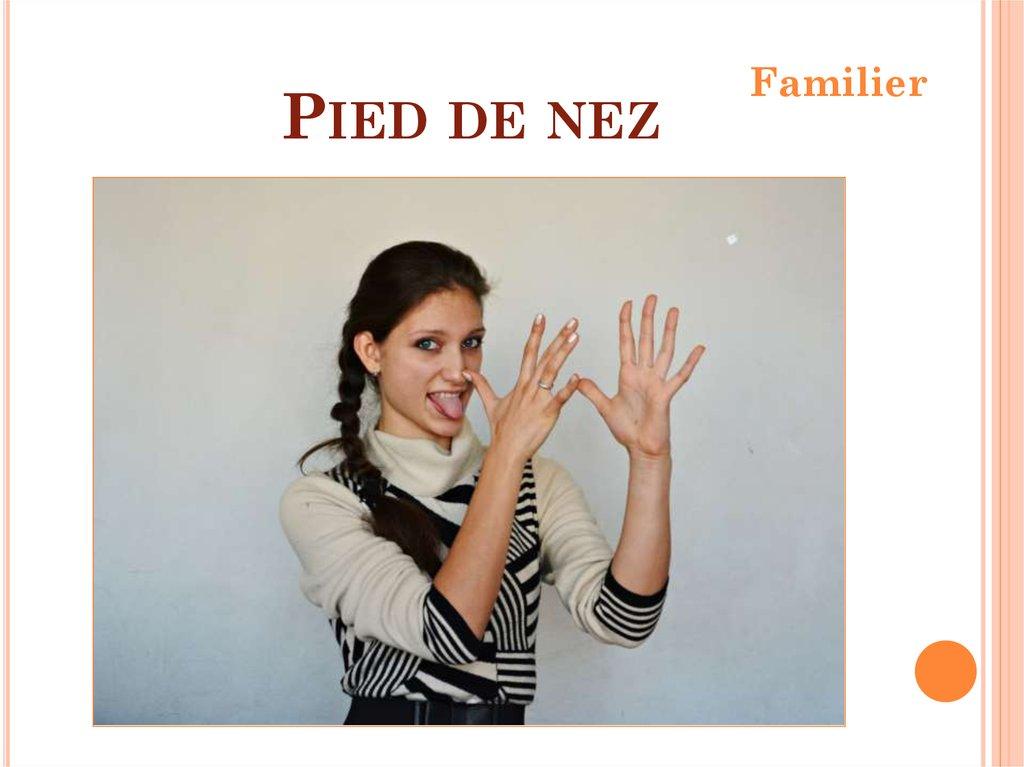 Les gestes français презентация онлайн