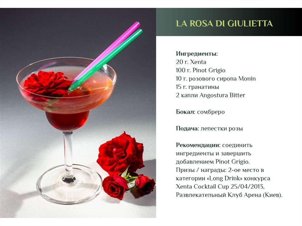 Коктейли шот и рецептами 4