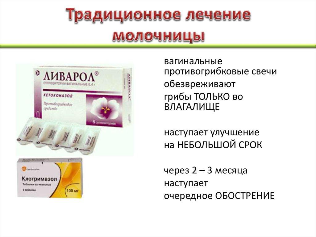 Эффективное лекарство от молочницы